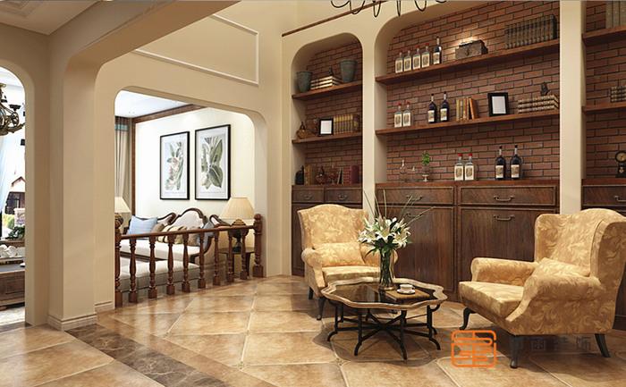 德郡 德郡丨别墅丨270㎡ 不加过多修饰与约束的美式风格,散发出迷人的休闲式...